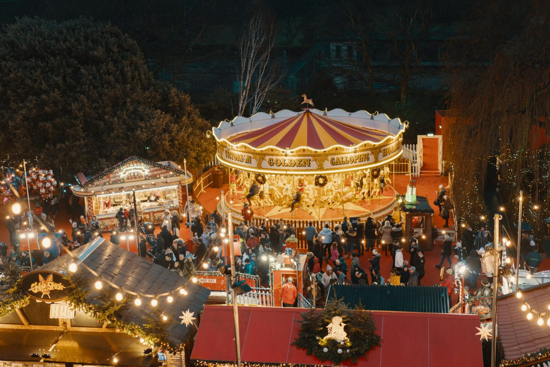 Edinburgh Christmas Market 2021